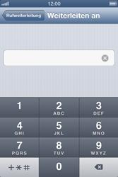 Apple iPhone 4 - Anrufe - Rufumleitungen setzen und löschen - Schritt 6