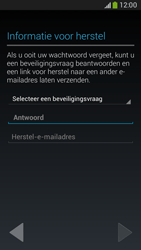 Samsung G386F Galaxy Core LTE - Applicaties - Account aanmaken - Stap 12