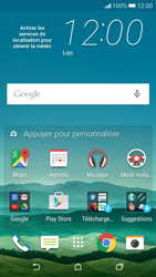 HTC Desire 626 - Internet - Examples des sites mobile - Étape 1