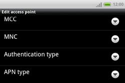 HTC A810e ChaCha - Internet - Manual configuration - Step 10