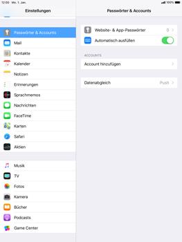 Apple iPad Air - iOS 12 - E-Mail - Konto einrichten (outlook) - Schritt 4