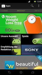 Sony Xperia T - Apps - Herunterladen - 1 / 1