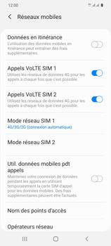 Samsung Galaxy S20 - Internet et connexion - Activer la 4G - Étape 8