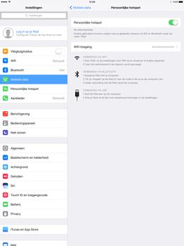 Apple iPad Pro 12.9 inch (Model A1671) - WiFi - Mobiele hotspot instellen - Stap 8