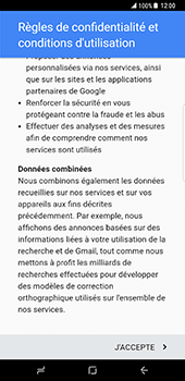 Samsung Galaxy S8 Plus - Applications - Configuration de votre store d
