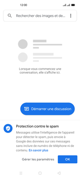 Oppo Reno 4Z - Contact, Appels, SMS/MMS - Envoyer un SMS - Étape 4