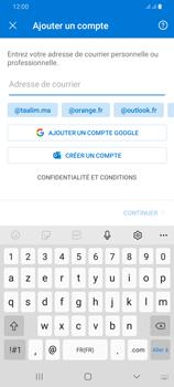 Samsung Galaxy A42 5G - E-mails - Ajouter ou modifier votre compte Outlook - Étape 7