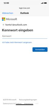 Apple iPhone X - iOS 13 - E-Mail - 032c. Email wizard - Outlook - Schritt 7