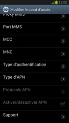 Samsung Galaxy S III - Internet et roaming de données - Configuration manuelle - Étape 12