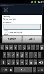 Samsung Galaxy S Advance - WiFi - WiFi configuration - Step 8