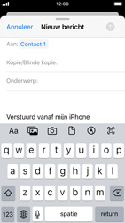 Apple iPhone SE - iOS 13 - E-mail - e-mail versturen - Stap 5