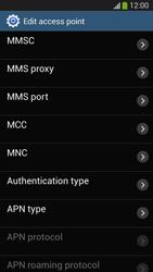 Samsung SM-G3815 Galaxy Express 2 - Internet and data roaming - Manual configuration - Step 13