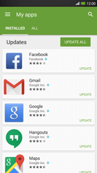 HTC One Max - Applications - How to check for app-updates - Step 6