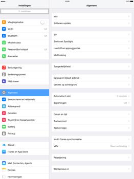Apple iPad Pro - WiFi - Handmatig instellen - Stap 4