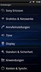 Sony Ericsson Xperia X10 - MMS - Manuelle Konfiguration - Schritt 5