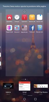 Huawei P20 - Operazioni iniziali - Installazione di widget e applicazioni nella schermata iniziale - Fase 6
