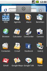 Samsung Galaxy Spica (GT-i5700) - E-mail - Hoe te versturen - Stap 3