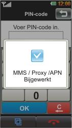 LG GD880 Mini - MMS - automatisch instellen - Stap 5