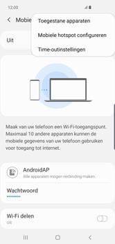 Samsung Galaxy S10 Plus - Internet - Stel mobiele hotspot in - Stap 9