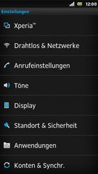Sony Xperia U - Ausland - Im Ausland surfen – Datenroaming - Schritt 6