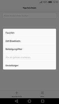 Huawei P9 Plus - SMS - Manuelle Konfiguration - Schritt 5