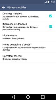 LG H365 G4 Stylus - Internet - désactivation du roaming de données - Étape 6