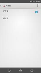Sony E2003 Xperia E4G - MMS - Manuelle Konfiguration - Schritt 17
