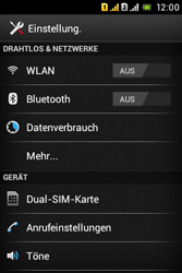 Sony Xperia Tipo Dual - WLAN - Manuelle Konfiguration - Schritt 4