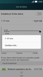Huawei Y5 - Internet - Ver uso de datos - Paso 5