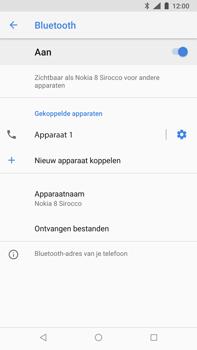 Nokia 8 Sirocco - bluetooth - headset, carkit verbinding - stap 10