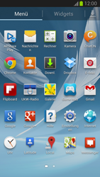 Samsung Galaxy Note II - MMS - Manuelle Konfiguration - Schritt 3