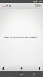 Sony Xperia Z1 - WiFi - Configurazione WiFi - Fase 5