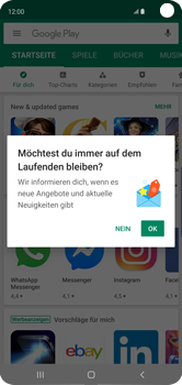 Samsung Galaxy S10 - Apps - Nach App-Updates suchen - Schritt 4