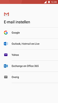 Nokia 6 - E-mail - Account instellen (POP3 met SMTP-verificatie) - Stap 7