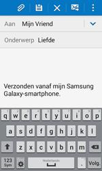 Samsung G357 Galaxy Ace 4 - E-mail - E-mails verzenden - Stap 9