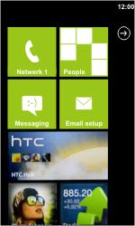 HTC 7 Trophy - Bellen - in het buitenland - Stap 10