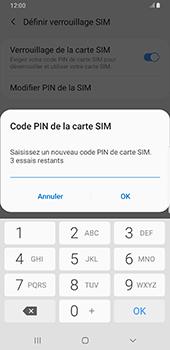 Samsung Galaxy S9 Plus - Android Pie - Sécurité - modifier SIM PIN - Étape 9
