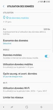 Samsung Galaxy Note 8 - Internet et connexion - Désactiver la connexion Internet - Étape 6