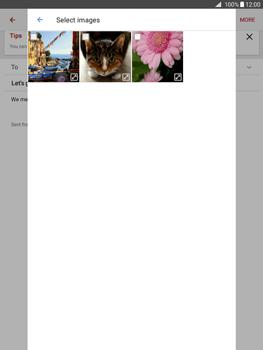 Samsung Galaxy Tab A 9.7 - E-mail - Sending emails - Step 17