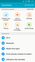 Samsung Galaxy A3 - A5 (2016) - Internet et connexion - Accéder au réseau Wi-Fi - Étape 4