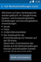 Samsung Galaxy Young 2 - Fehlerbehebung - Handy zurücksetzen - 8 / 11