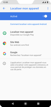 Xiaomi Mi A2 Lite - Appareil - configurer Localiser mon appareil - Étape 7