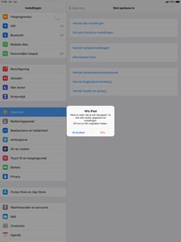 Apple ipad-pro-12-9-ios-12 - Resetten - Fabrieksinstellingen terugzetten - Stap 7