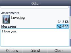 Nokia Asha 302 - E-mail - Sending emails - Step 16