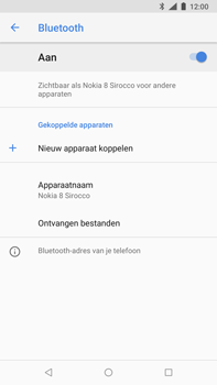 Nokia 8 Sirocco - bluetooth - headset, carkit verbinding - stap 7
