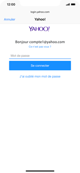 Apple iPhone XS Max - E-mail - Configuration manuelle (yahoo) - Étape 8