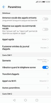 Huawei Mate 10 Pro - Messagerie vocale - Configuration manuelle - Étape 5