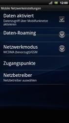 Sony Ericsson Xperia Arc S - Ausland - Auslandskosten vermeiden - Schritt 8