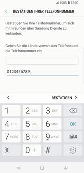 Samsung Galaxy S8 - Datenschutz und Sicherheit - Samsung einrichten - 15 / 18