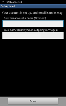 Samsung N7000 Galaxy Note - E-mail - Manual configuration - Step 11